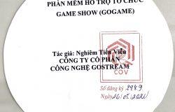 Phần mềm của Công ty CP Công nghệ GOSTREAM được cấp giấy chứng nhận Quyền tác giả