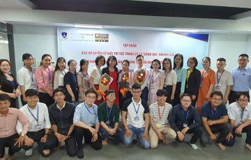 """Chương trình tập huấn về """"bảo hộ quyền sở hữu trí tuệ trong cơ sở giảng dạy, nghiên cứu"""" dành cho cán bộ, giảng viên, nghiên cứu viên Trường Đại học Nguyễn Tất Thành"""