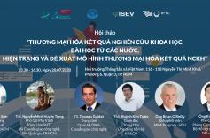 Thương mại hoá kết quả nghiên cứu – Hướng đi mới cho các trường đại học – viện nghiên cứu tại Việt Nam