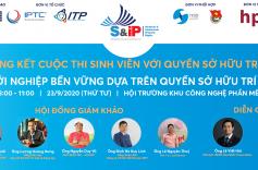 Chung kết cuộc thi Sinh viên với Quyền sở hữu trí tuệ S&IP 2020