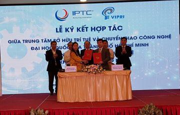 IPTC ký kết hợp tác với Viện KH Sở hữu Trí tuệ VIPRI: tăng cường khai thác thông tin sở hữu công nghiệp