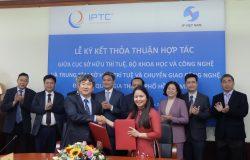 IPTC ký kết hợp tác với Cục Sở hữu trí tuệ